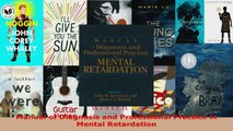 Read  Manual of Diagnosis and Professional Practice in Mental Retardation EBooks Online