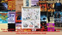 PopUp NYC Map by VanDam  City Street Map of New York City New York  Laminated folding PDF