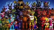 FNAF WORLD! Adventure! Puppet, Plushtrap, N. Freddy, P. BB | FNAF WORLD RPG
