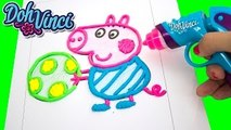 Peppa Pig Play Doh DohVinci Art Studio Design Peppa Pig with Play Doh Vinci Dibujar con Pl