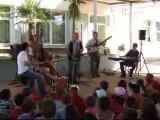 Jazz à l'école primaire le 12 mai 2007