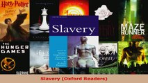 Read  Slavery Oxford Readers Ebook Free