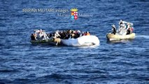 Hundreds of people rescued from boats off Libya, body recovered