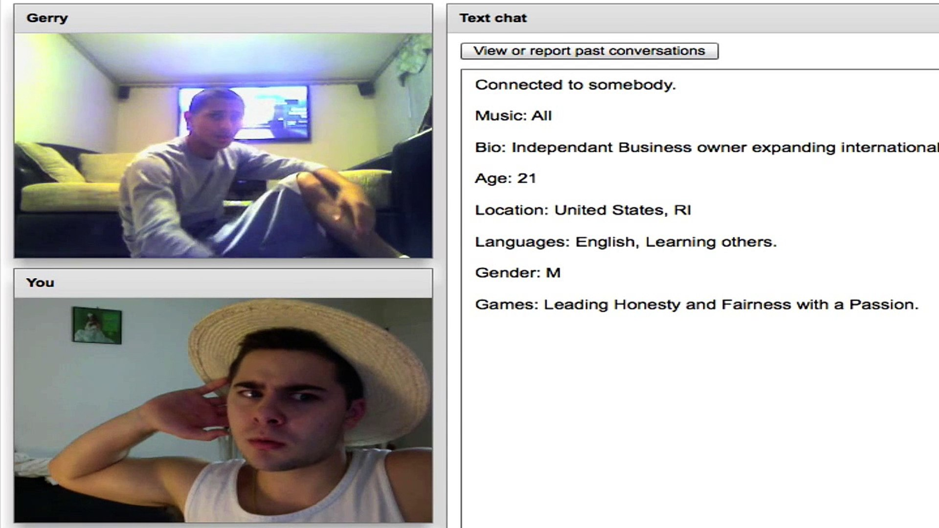 Gat chatroulette Gayconnect: Gay