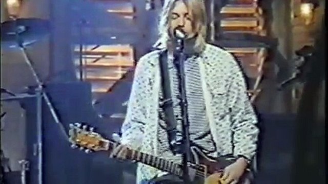 Nirvana Heart Shaped Box (SNL Rehersal) Take 2