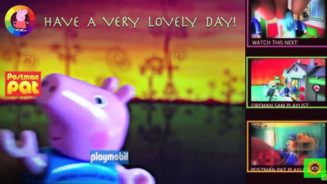 Toys New Peppa Pig English Episode with Toys. 2015 ❤️ Fireman Sam, Postman Pat