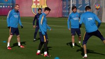 FCB Training Session: Post-Clásico recovery session