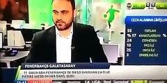 Hasan Şaşın kızardığı o an! Fenerbahçe 1 0 Galatasaray Maç Özeti 8 Mart 2015