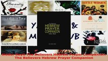 Read  Siddur Bayit The Believers Hebrew Prayer Companion The Believers Hebrew Prayer Companion EBooks Online