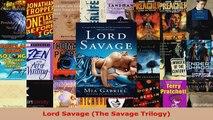 Read  Lord Savage The Savage Trilogy PDF Free