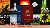 Download  Holy Bible King James Version Ministers Black Genuine Leather PDF Free