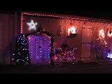 Illuminations de Noël à Lavault-Sainte-Anne