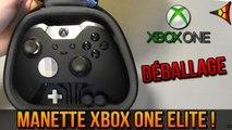 Unboxing manette Xbox One Elite ! (Déballage + fonctionnalités)   FPS Belgium