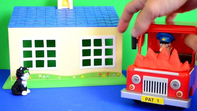 peppa pig games Fireman Sam Episode Peppa Pig Play-doh Postman pat Van Fire Fire Engine Story WOW