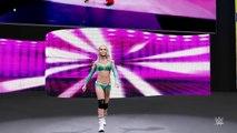 WWE 2K16 : Divas Revolution Kelly Kelly and Maryse vs The Bella Twins