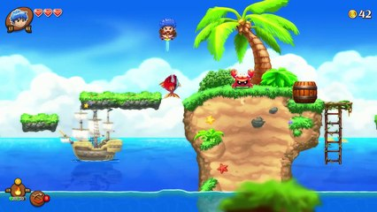 Trailer Gameplay #1 de Monster Boy and the Cursed Kingdom