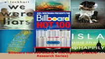 Read  Billboard Hot 100 Charts  The Eighties Record Research Series Ebook Free