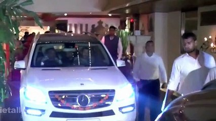 See How Bollywood Rich n Famous Bollywood Stars Arrive at Parties
