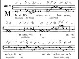 Graduale gregorian 'Misit Dominus', Dominica II post Epiphaniam (2è dimanche du TO)