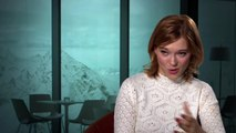SPECTRE Madeleine Swann Official On Set Interview - Lea Seydoux