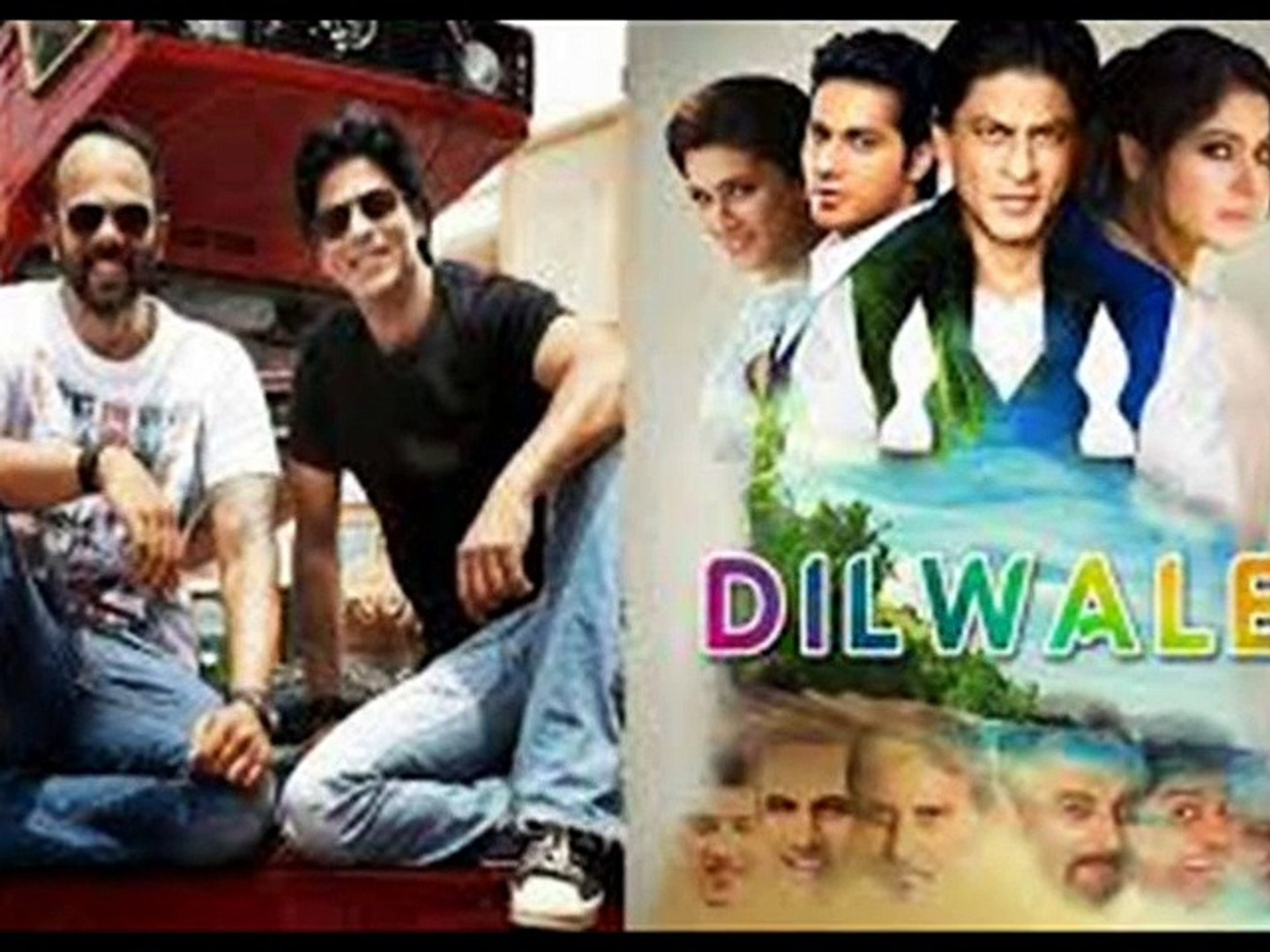 Dilwale 2015 Sharukh & Kajol Part 1