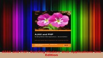 PDF Download  AJAX and PHP Building Modern Web Applications 2nd Edition Download Full Ebook