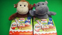 TOYS - Kinder Surprise Egg Party  Opening 2 Stuffed Animal Kinder Surprise Boxes , hd online free Full 2016