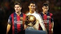 Lionel Messi Vs Cristiano Ronaldo Vs Neymar ● Balon d'Or 2015