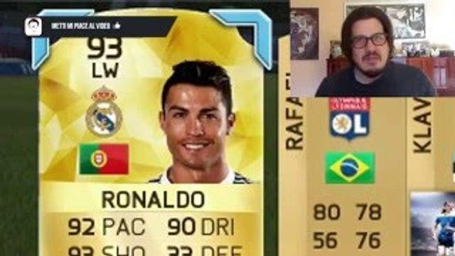 ODDIO HO TROVATO 2 MESSI E 2 RONALDO! PACK OPENING FIFA 15