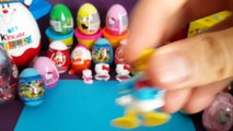 MST Kinder Surprise Eggs Play Doh Peppa Pig Mickey Mouse Donald Duck [MST]
