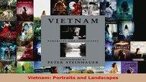 Read  Vietnam Portraits and Landscapes Ebook Free