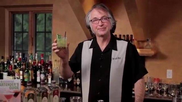 Gin Basil Smash Cocktail - A Modern Classic by Joerg Meyer