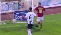 Livorno Calcio 1-2 Ascoli Calcio - Valerio Nava Own Goal Italy  Serie B - 23.12.2015