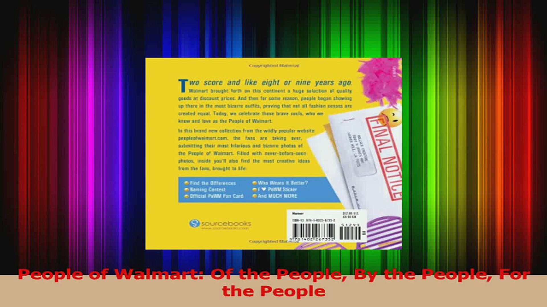 People of Walmart Of the People By the People For the People PDF