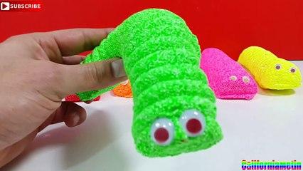 Foam Clay Caterpillar Surprise The Pink Panther Ben 10 Peppa Pig Donald Duck Monkey D Luffy
