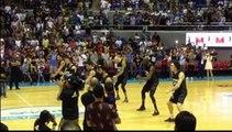 New Zealand players perform haka dance before facing Gilas Pilipinas