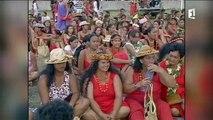 5ème Festival des Marquises à Nuku HIva en 1999 - Polynésie 1ère