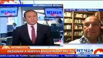 """Designación de magistrados del TSJ en Vzla es un acto """"fraudulento"""": diputado Williams Dávila"""