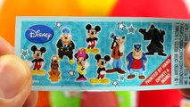 mickey mouse Peppa Pig Kinder Surprise Eggs Mickey Mouse Play Doh Frozen Minnie toys peppa pig