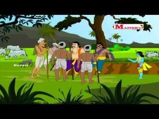Krishnan Leelai (Part 3) - Tamil Animation Video for Kids