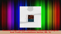 PDF Download  Sweeter Than Honey Orthodox Thinking on Dogma And Truth Foundations Series Bk 3 Read Online