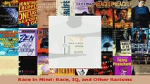 Download  Race in Mind Race IQ and Other Racisms EBooks Online