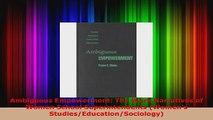 Read  Ambiguous Empowerment The Work Narratives of Women School Superintendents Womens PDF Online