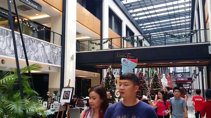 Christmas Decoration at Publika, Kuala Lumpur