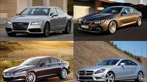 Audi A7 vs. Jaguar XF vs. BMW 640i Gran Coupe vs. Mercedes Benz CLS550 Comparison