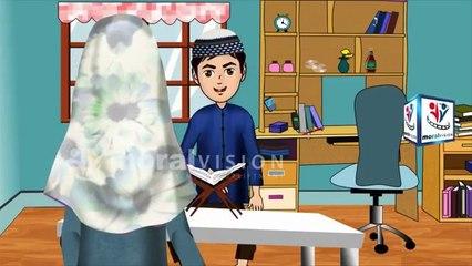 Abdul Bari learning Surah Al-Fatiha Quran Hindi Urdu
