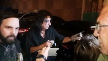 Alice Cooper Signs Photos For Fans After Hollywood Vampires Concert