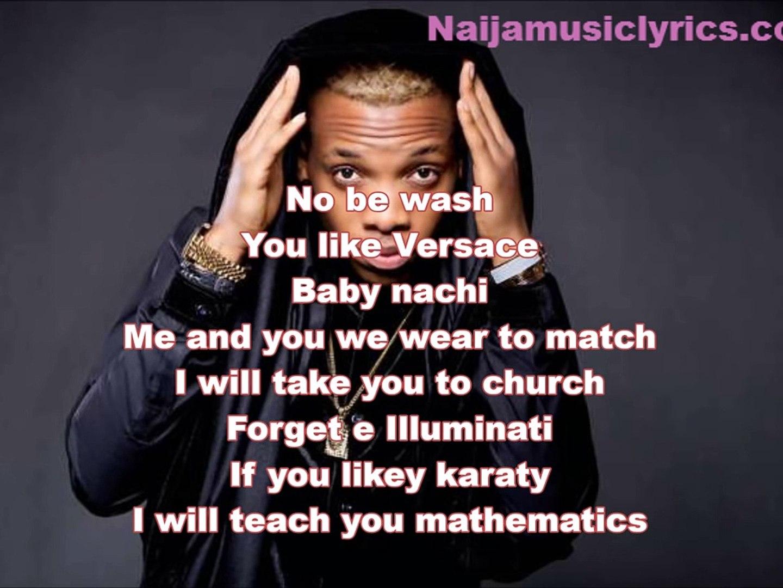 Wash by Tekno Lyrics Video Naijamusiclyrics com