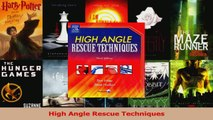 Download  High Angle Rescue Techniques Ebook Online