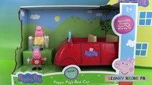 disney récré Peppa Pig's Red Car La voiture de Peppa Parlante Maman Pig Jouets en français auto